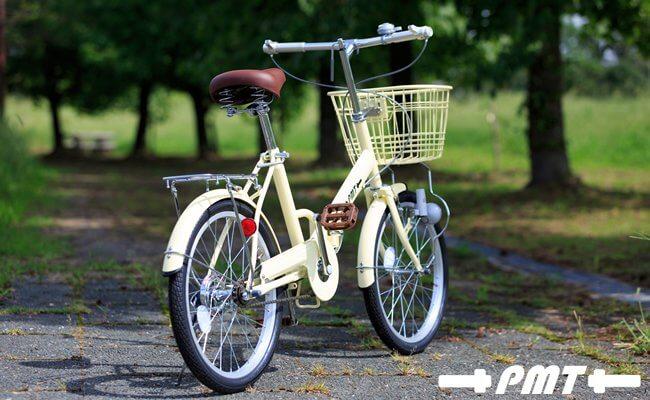 パームブレーキバー付き自転車(折り畳み)