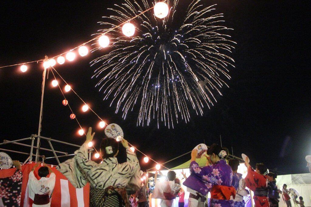 喬木村のお祭り