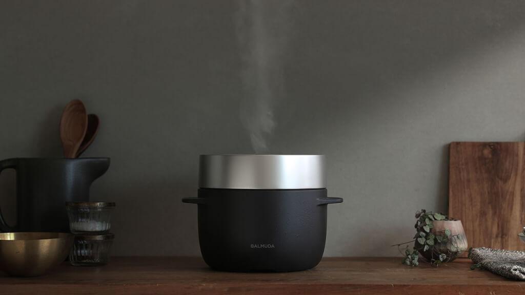 バルミューダの炊飯器「BALMUDA The Gohan」がふるさと納税に登場!