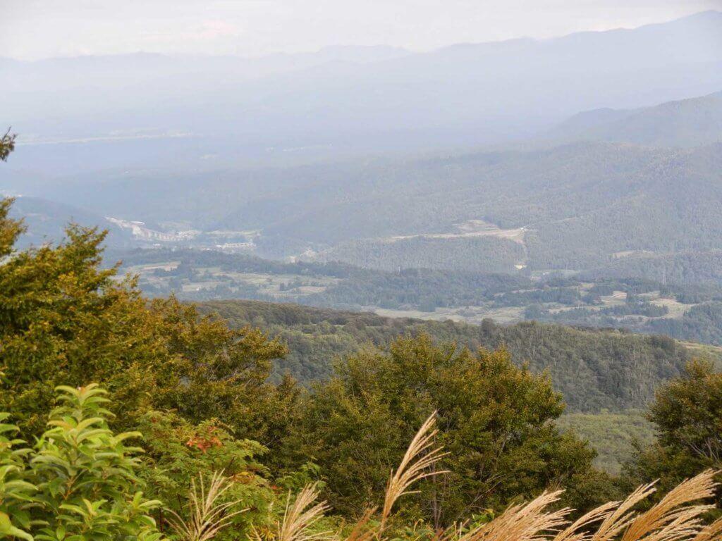 長野県飯山市の山々