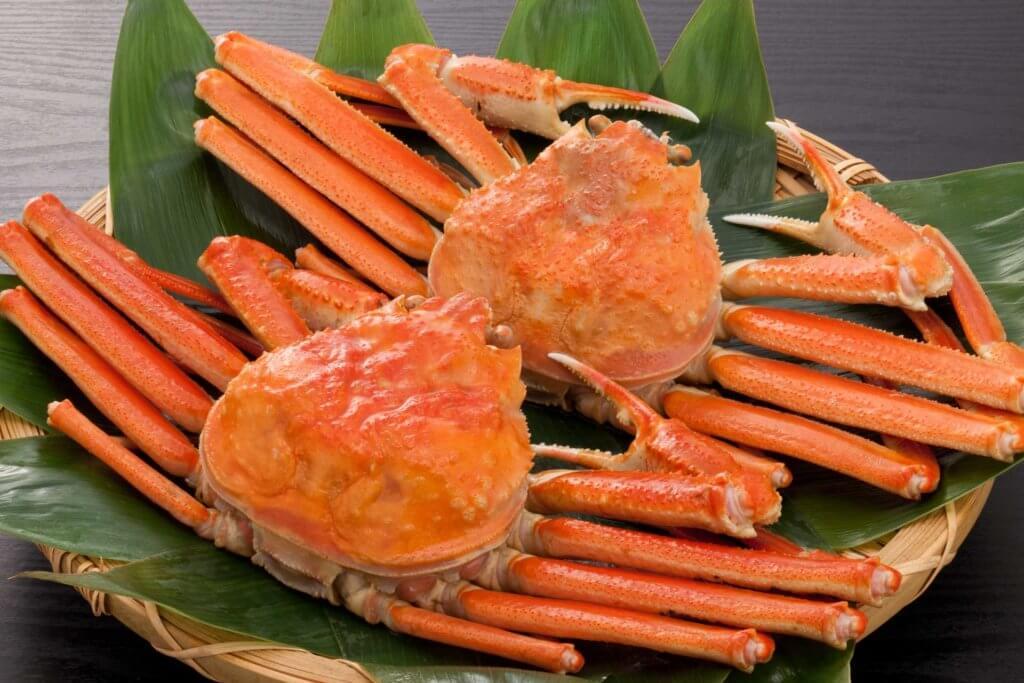 ズワイ蟹の写真