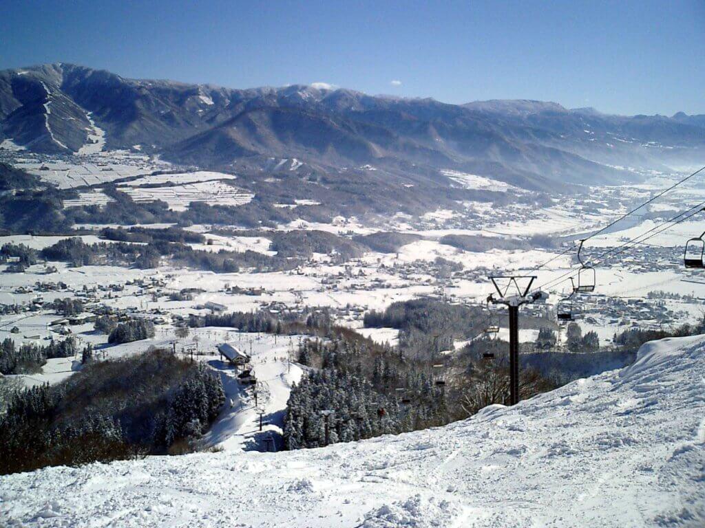 飯山市の戸狩スキー場