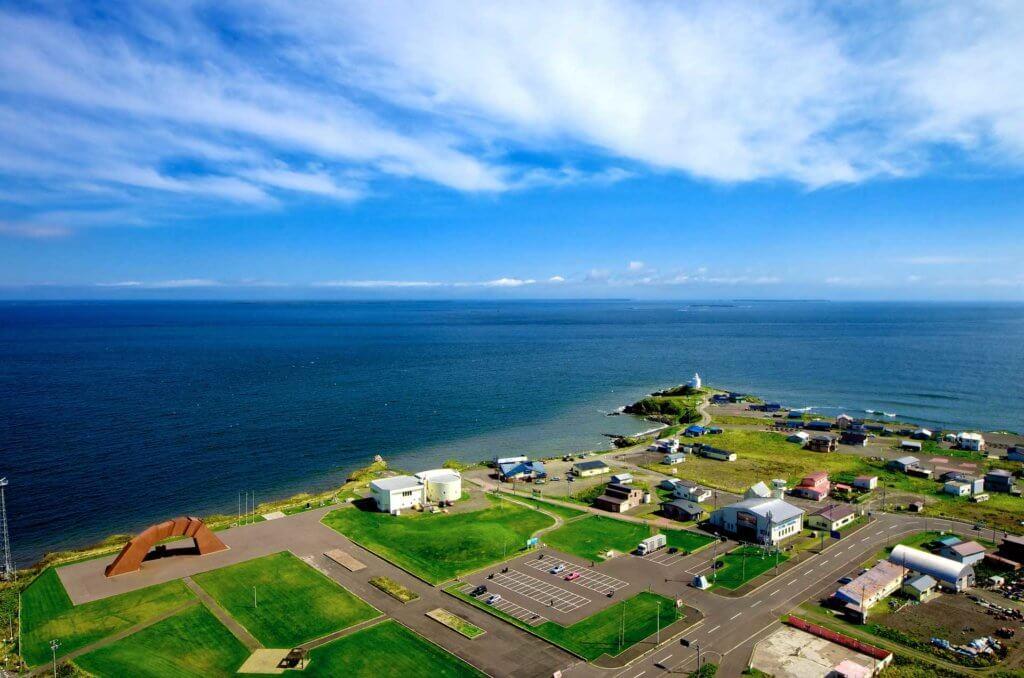納沙布岬の全景