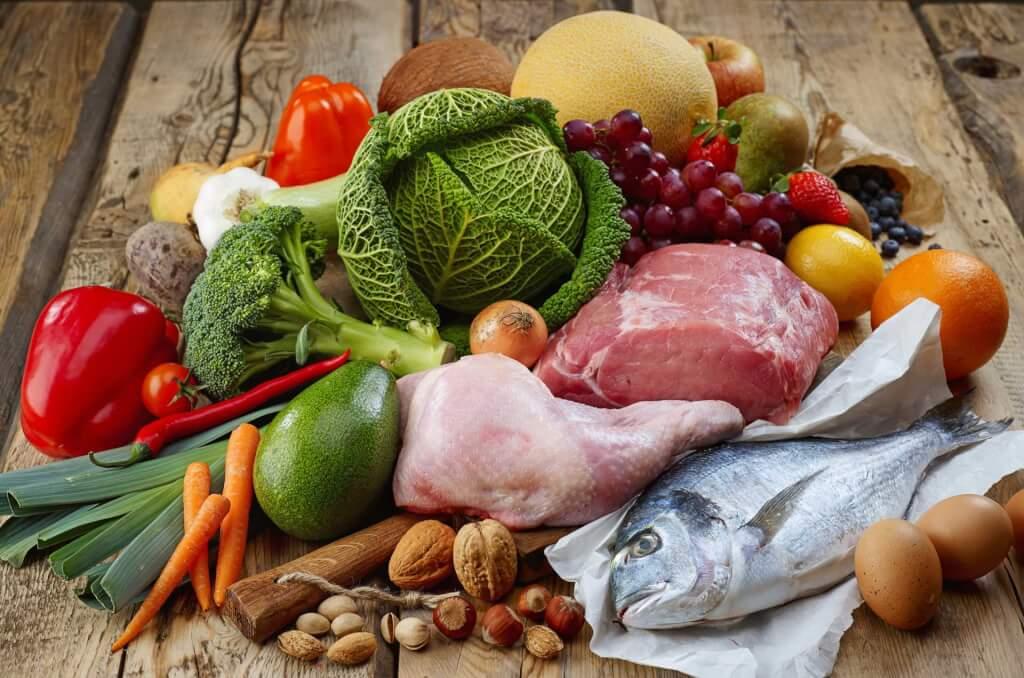 色々な食材の写真